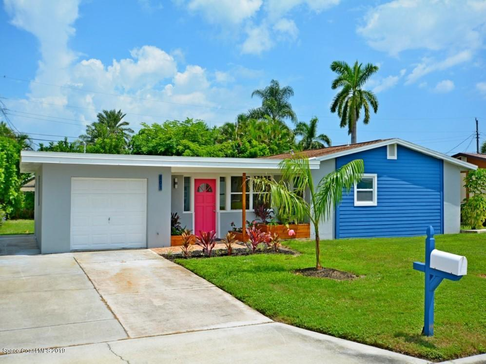 Single Family Homes for Sale at 201 SE First Satellite Beach, Florida 32937 United States