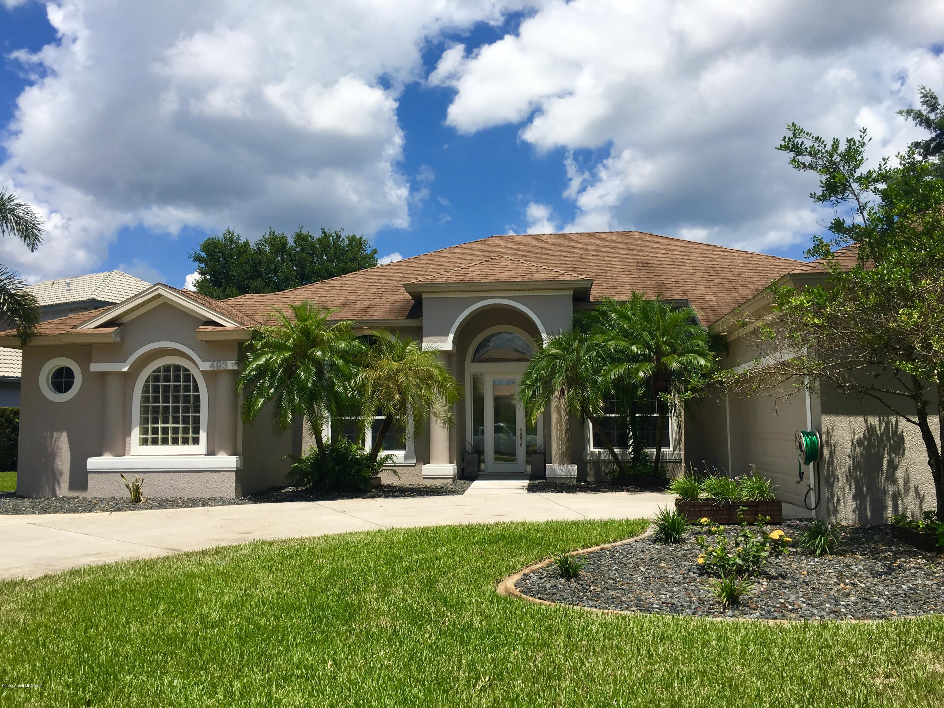 Single Family Homes for Sale at 493 Birchington Melbourne, Florida 32940 United States