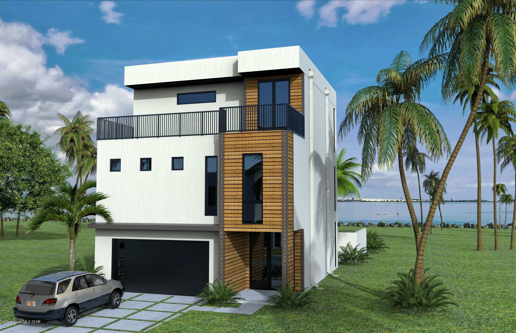 Single Family Homes per Vendita alle ore 1 Ocean River Cocoa Beach, Florida 32931 Stati Uniti