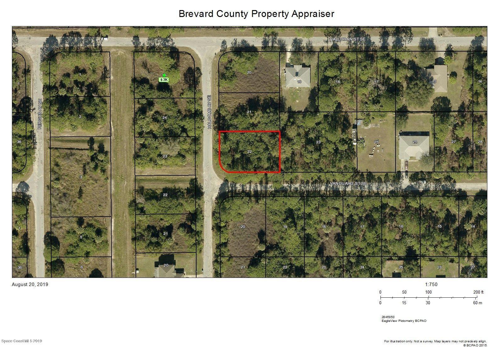 Land for Sale at Halcome & Vanguard Corner Palm Bay, Florida 32909 United States