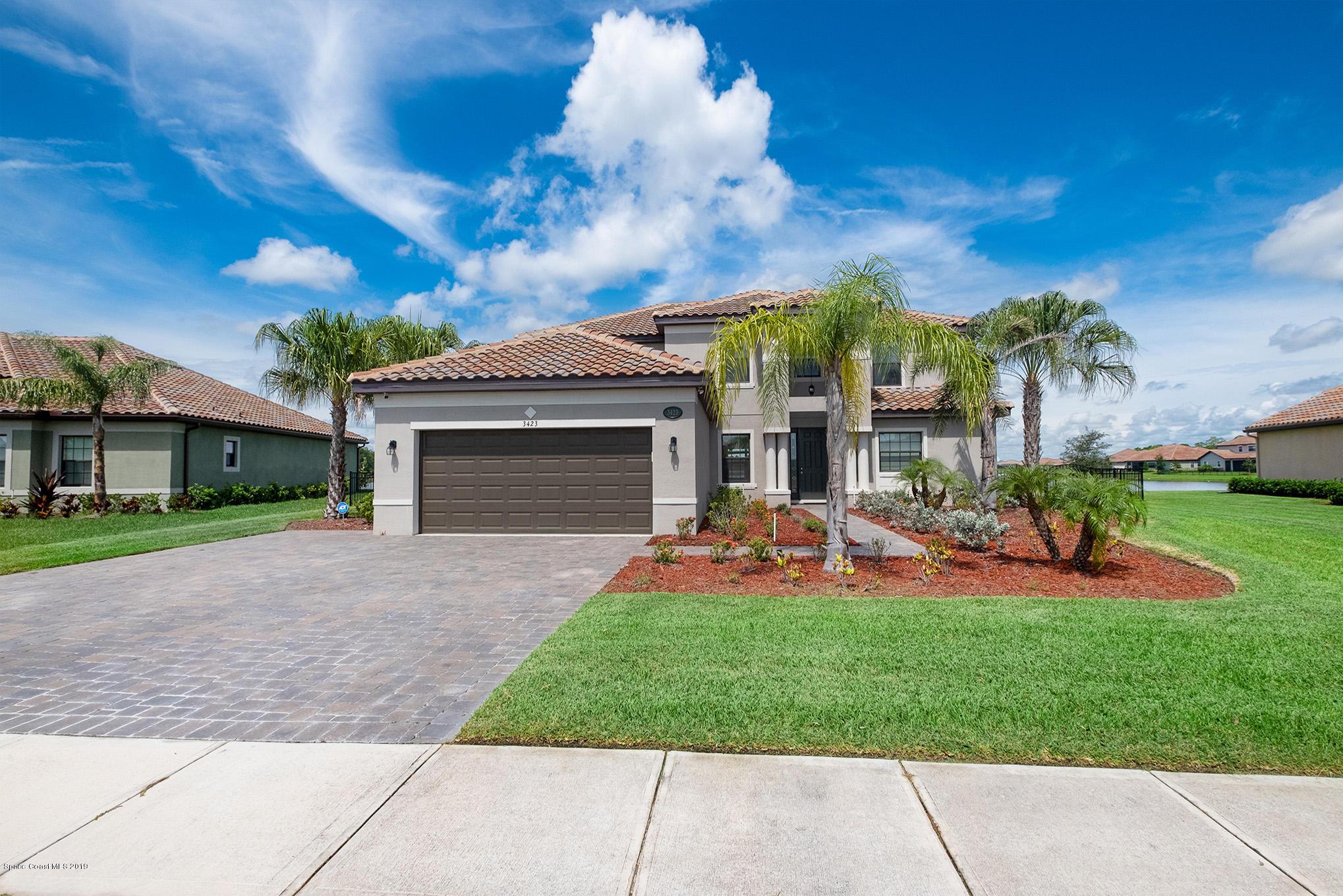 Single Family Homes för Hyra vid 3423 Rushing Waters West Melbourne, Florida 32904 Förenta staterna