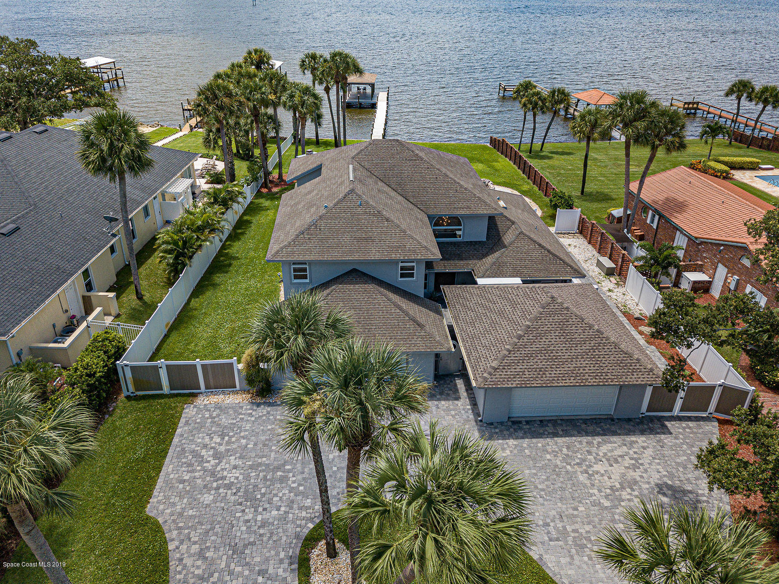 Single Family Homes for Sale at 300 Riverside Melbourne Beach, Florida 32951 United States