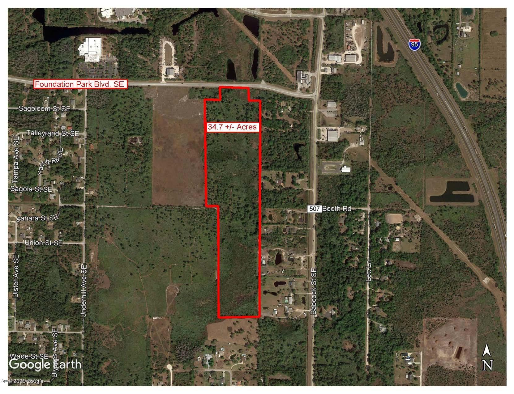 Land for Sale at Address Not Available Palm Bay, Florida 32909 United States