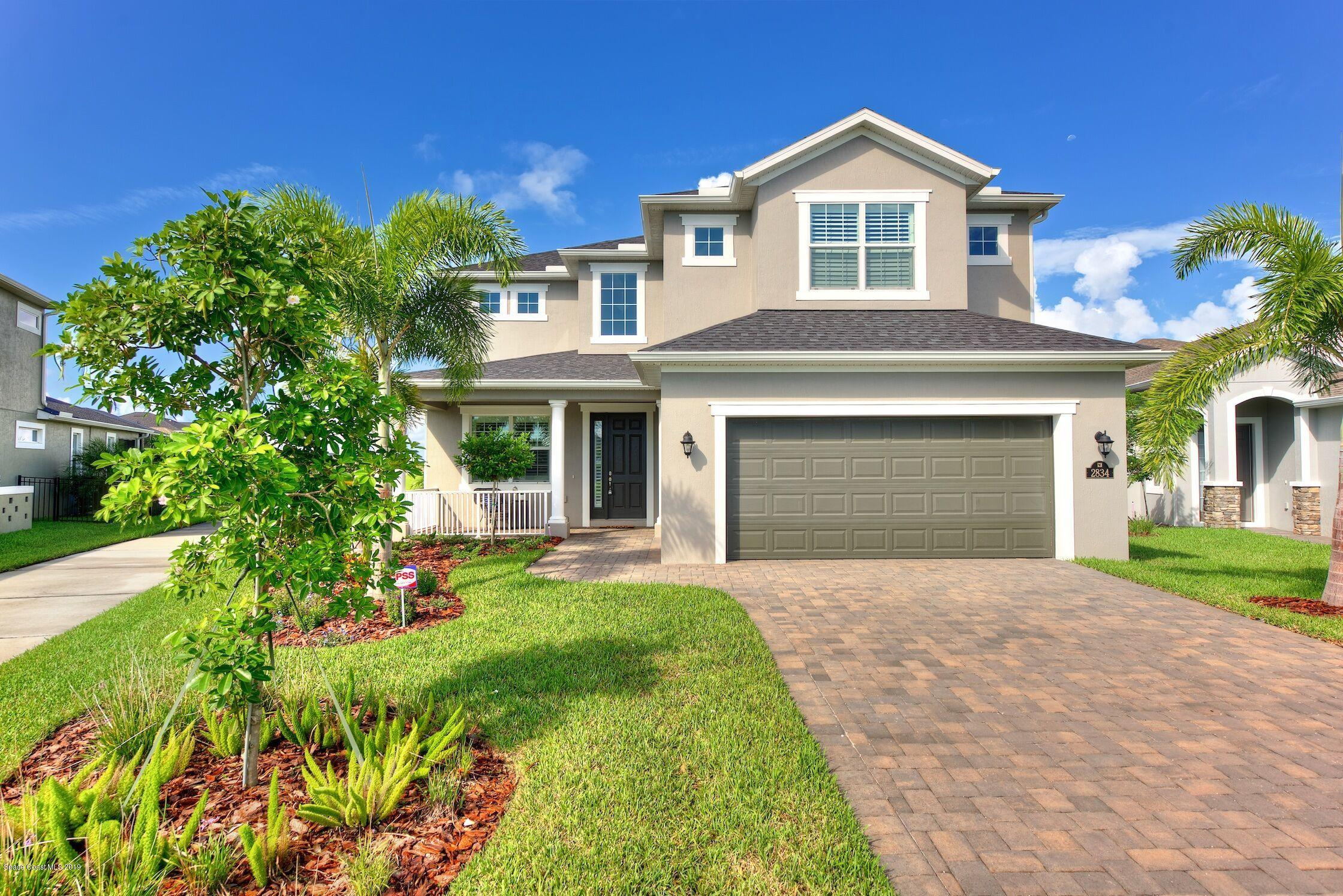 Single Family Homes for Sale at 2834 Amethyst Melbourne, Florida 32940 United States