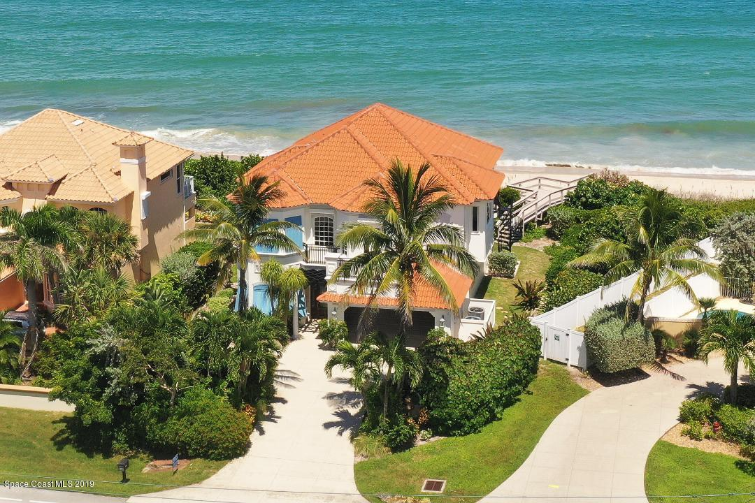 Single Family Homes for Sale at 7665 S Highway A1a Melbourne Beach, Florida 32951 United States