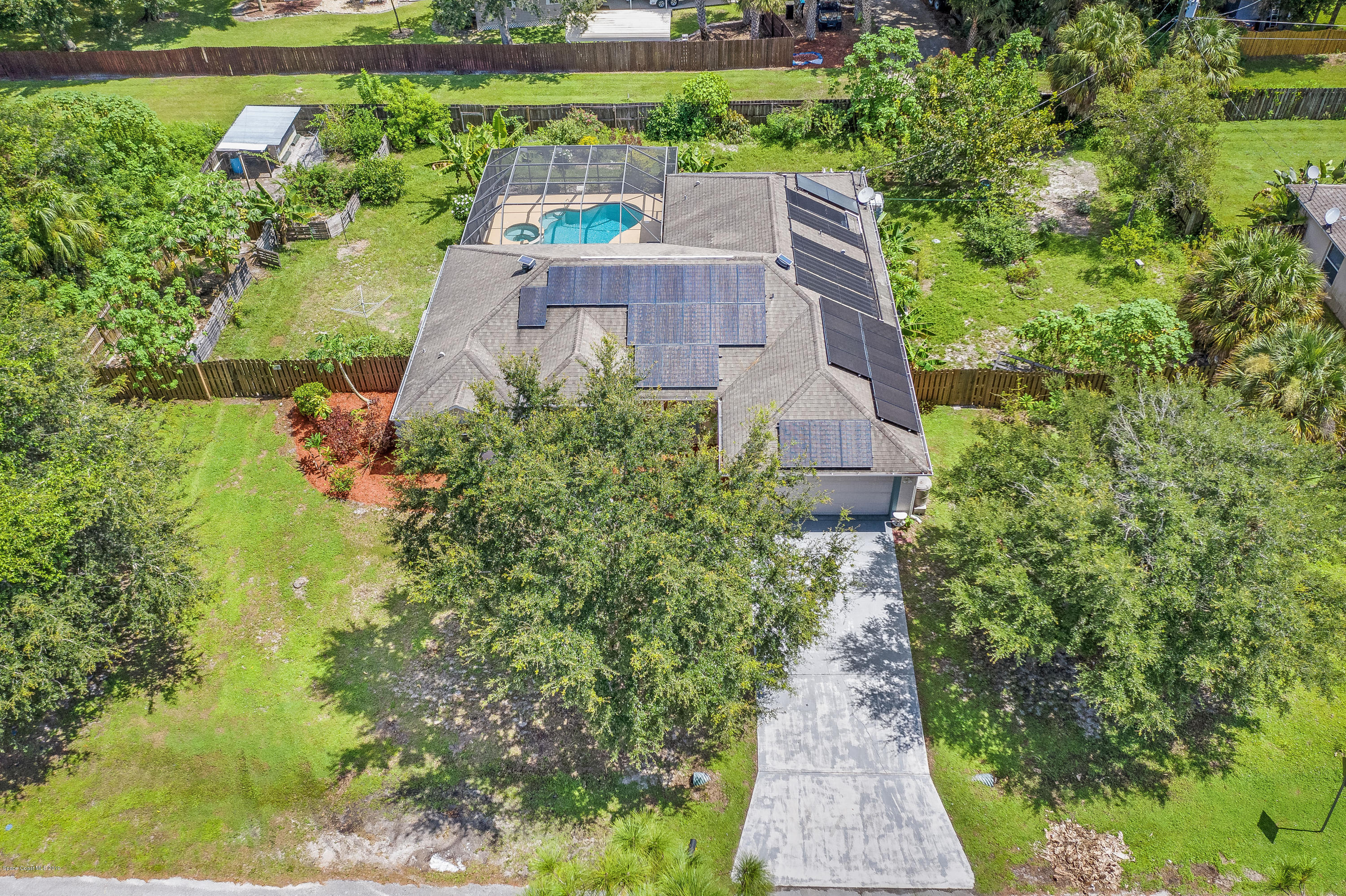 Single Family Homes for Sale at 583 Evergreen Palm Bay, Florida 32907 United States