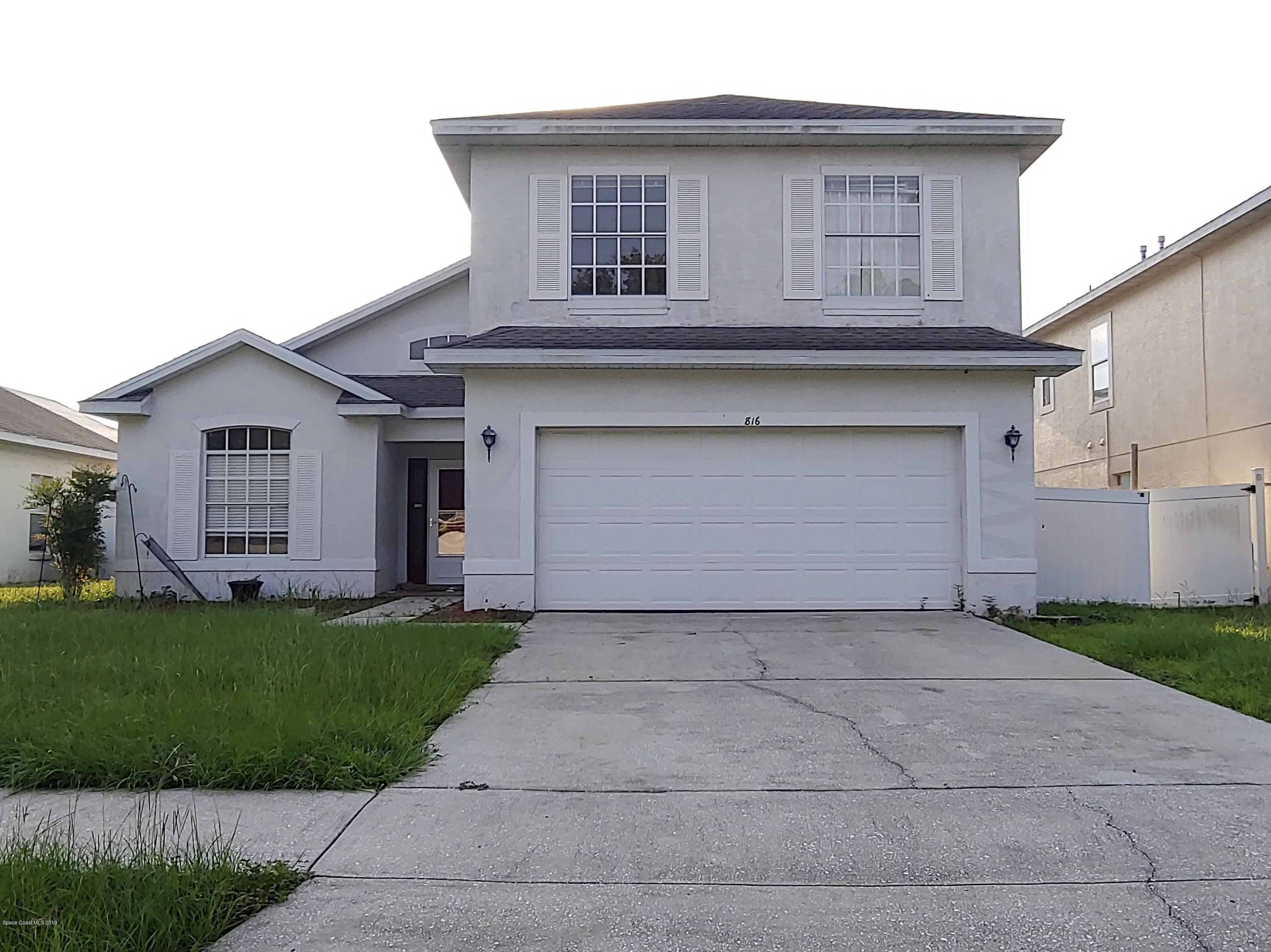 Single Family Homes for Sale at 816 Pinewood Davenport, Florida 33897 United States