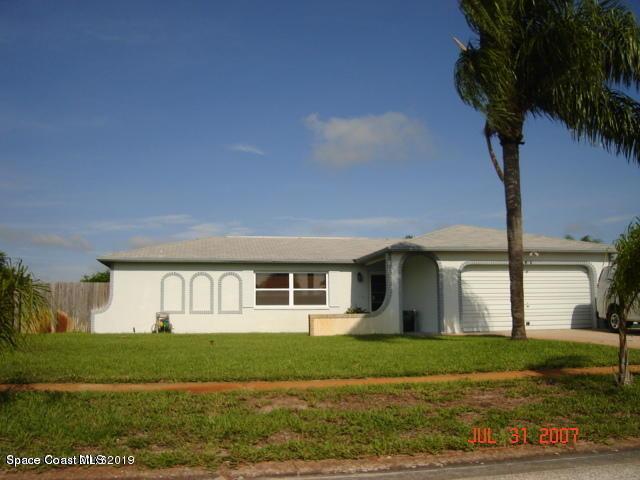 Single Family Homes for Rent at 2180 Porpoise Merritt Island, Florida 32952 United States
