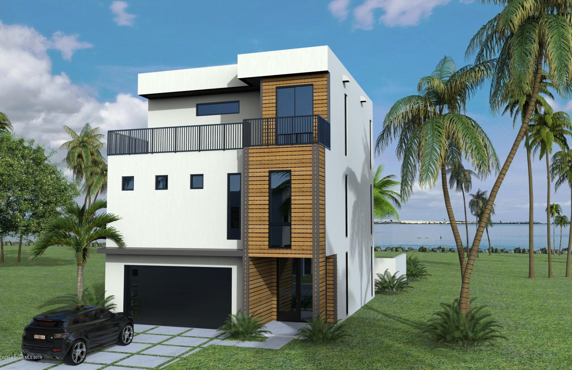 Single Family Homes για την Πώληση στο 1 Ocean River Cocoa Beach, Φλοριντα 32931 Ηνωμένες Πολιτείες