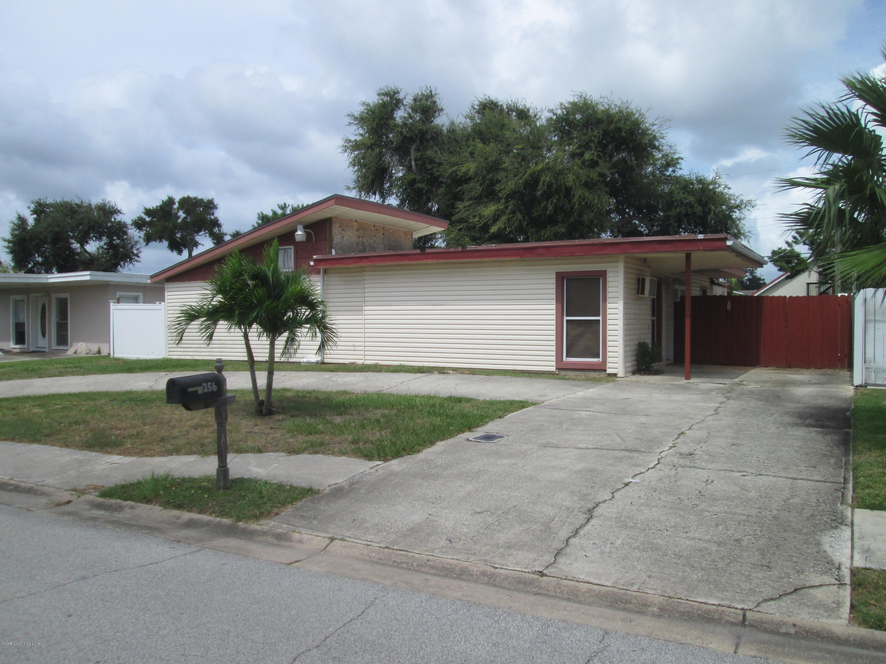 Single Family Homes for Sale at 256 Polk Cape Canaveral, Florida 32920 United States