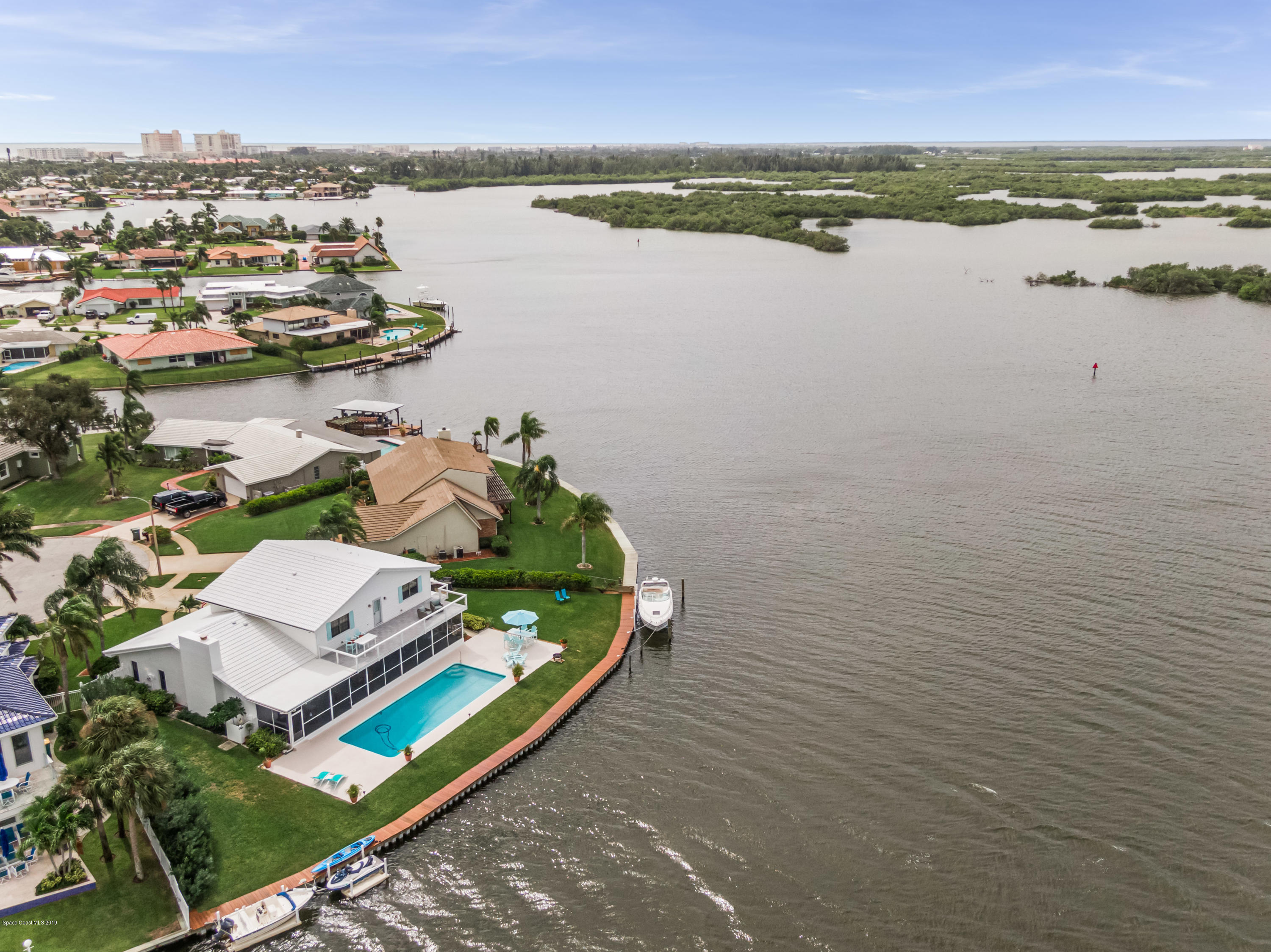 Single Family Homes for Sale at 295 Andros Cocoa Beach, Florida 32931 United States