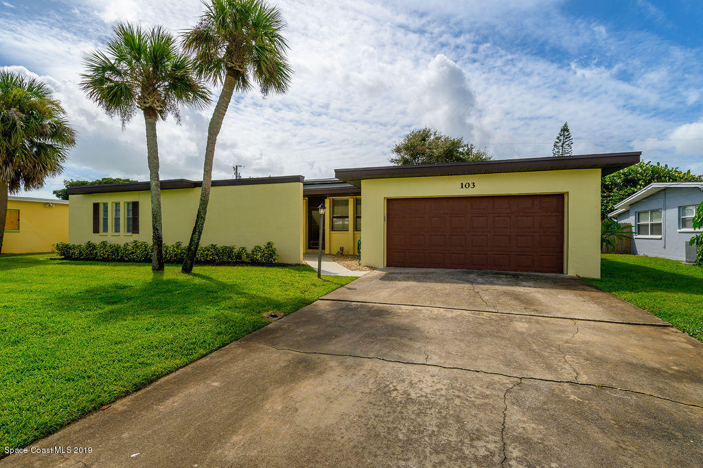 Single Family Homes for Sale at 103 Freddie Indian Harbour Beach, Florida 32937 United States