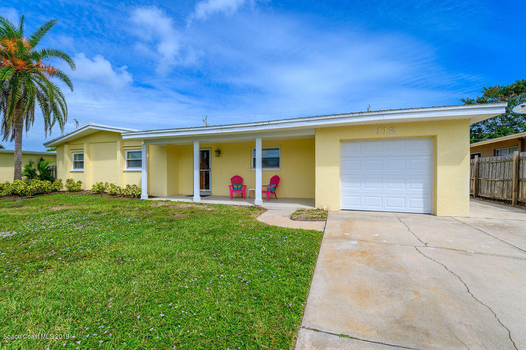 Single Family Homes for Sale at 112 Freddie Indian Harbour Beach, Florida 32937 United States