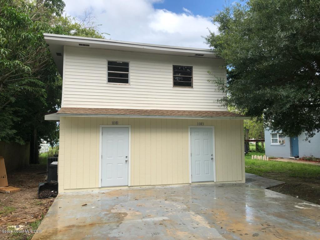 Multi-Family Homes for Sale at 1081 S Deleon Titusville, Florida 32780 United States