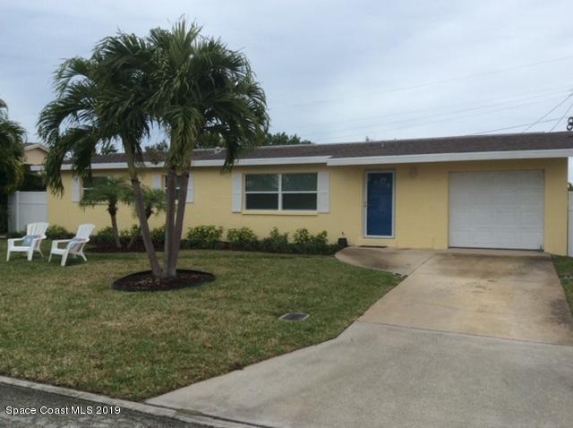 Single Family Homes 為 出租 在 2120 Plumosa Indialantic, 佛羅里達州 32903 美國