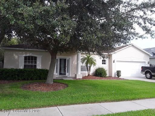 Single Family Homes for Rent at 785 Triple Crown West Melbourne, Florida 32904 United States