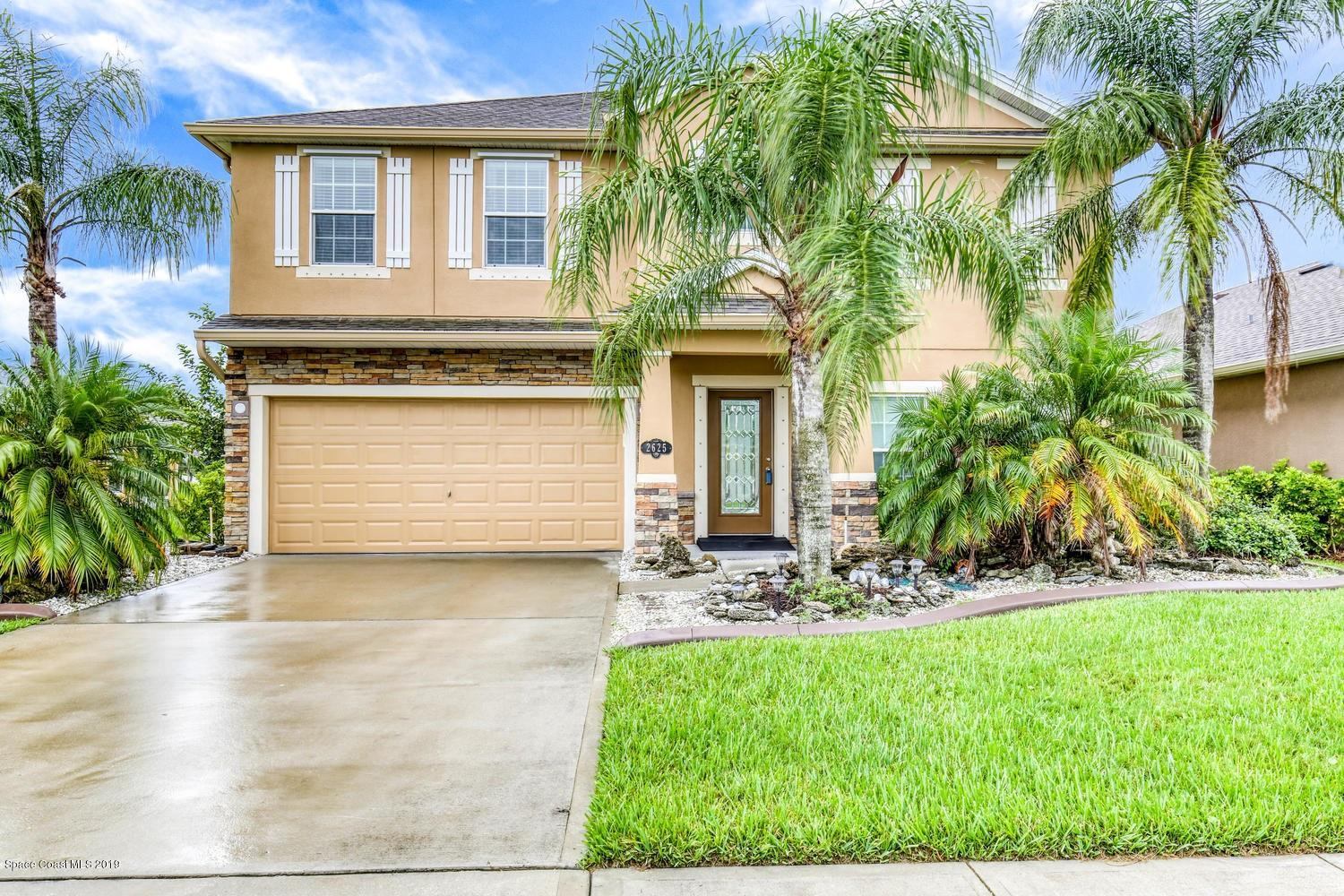 Single Family Homes for Sale at 2625 NW Snapdragon Palm Bay, Florida 32907 United States