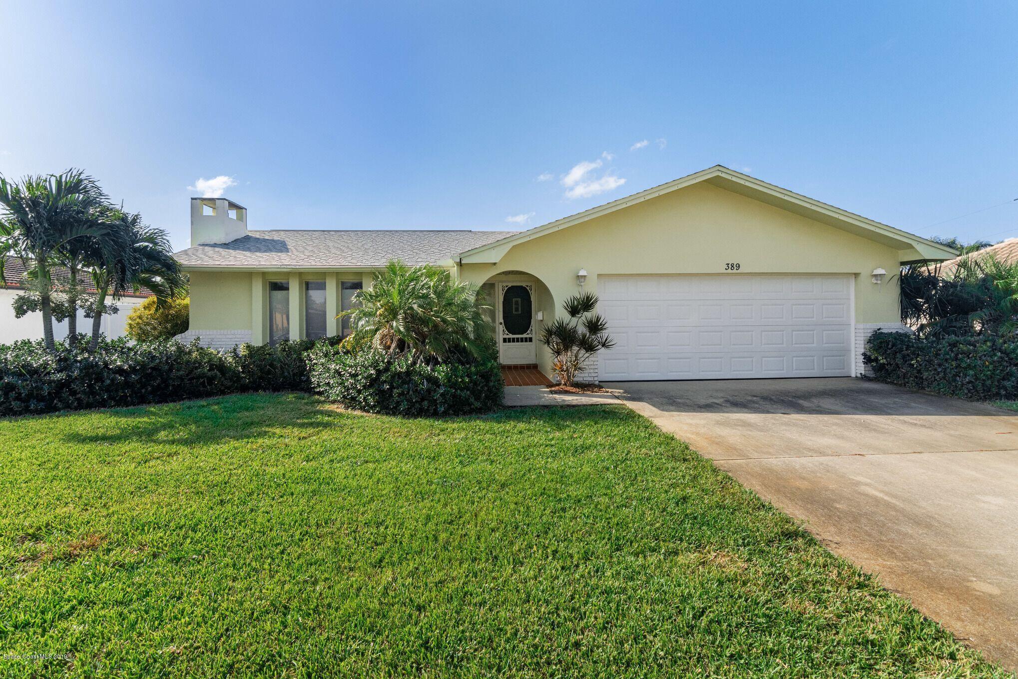 Single Family Homes for Sale at 389 Desoto Satellite Beach, Florida 32937 United States