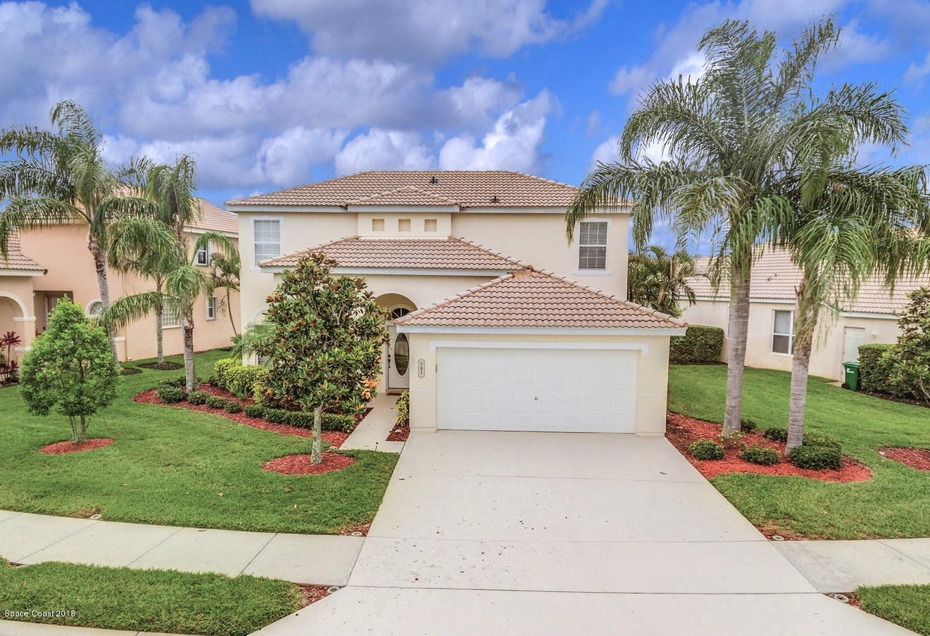 Single Family Homes for Sale at 781 Glen Abbey Melbourne, Florida 32940 United States