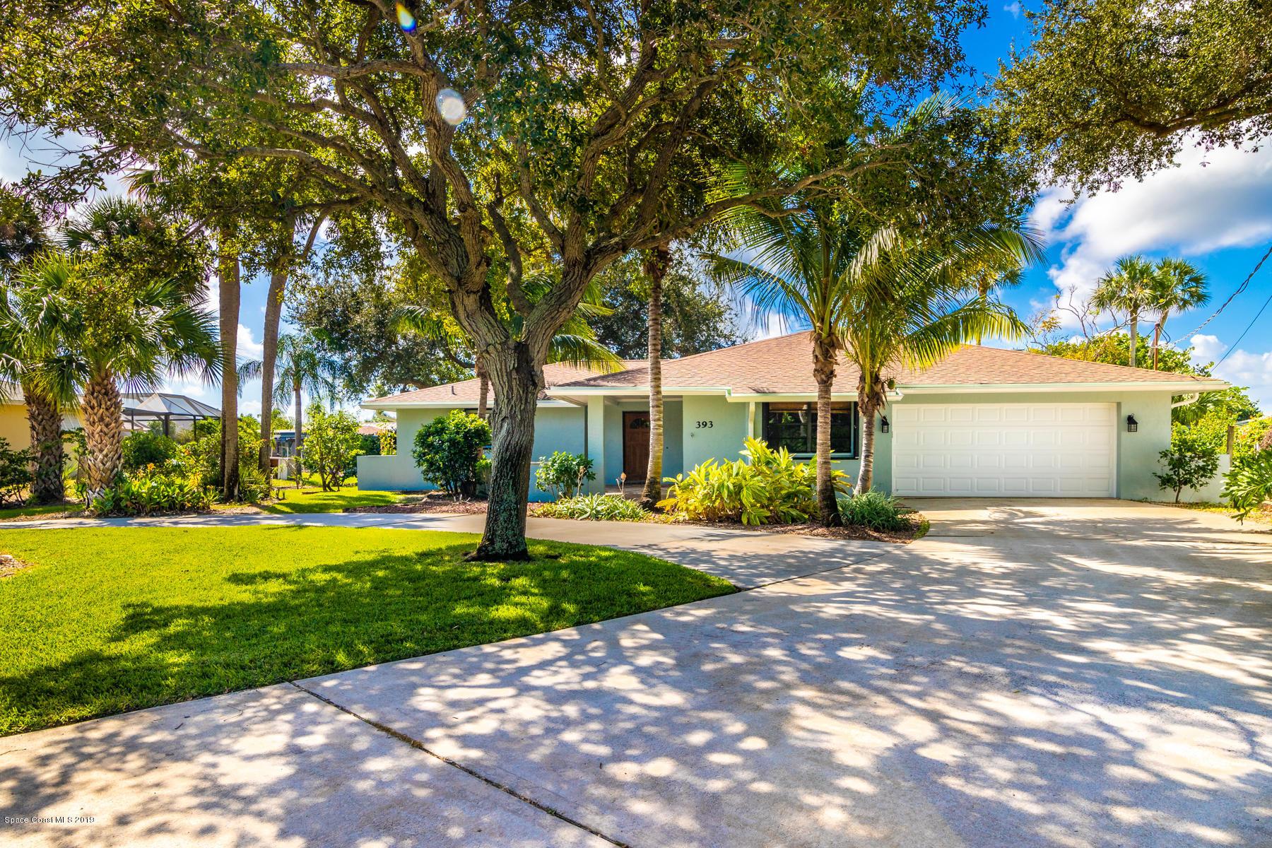 Single Family Homes for Sale at 393 Nikomas Melbourne Beach, Florida 32951 United States