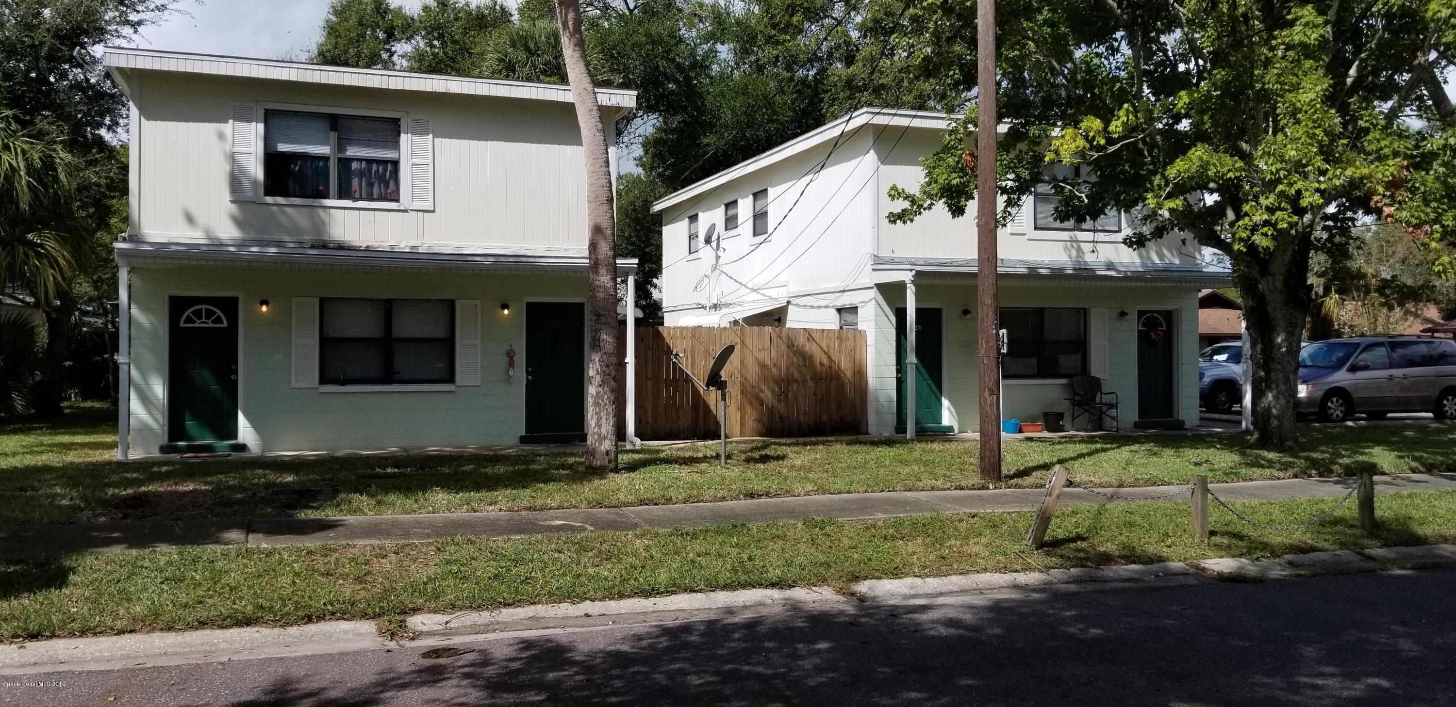 Multi-Family Homes for Sale at 230 N Robbins Titusville, Florida 32796 United States