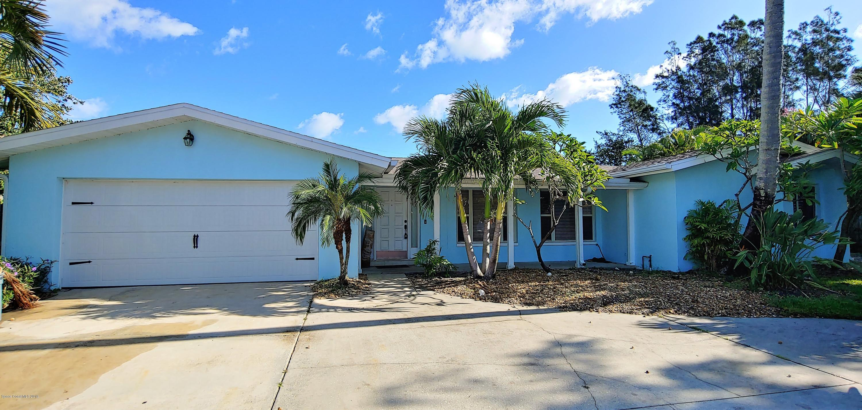 Single Family Homes for Sale at 400 Coral Melbourne Beach, Florida 32951 United States