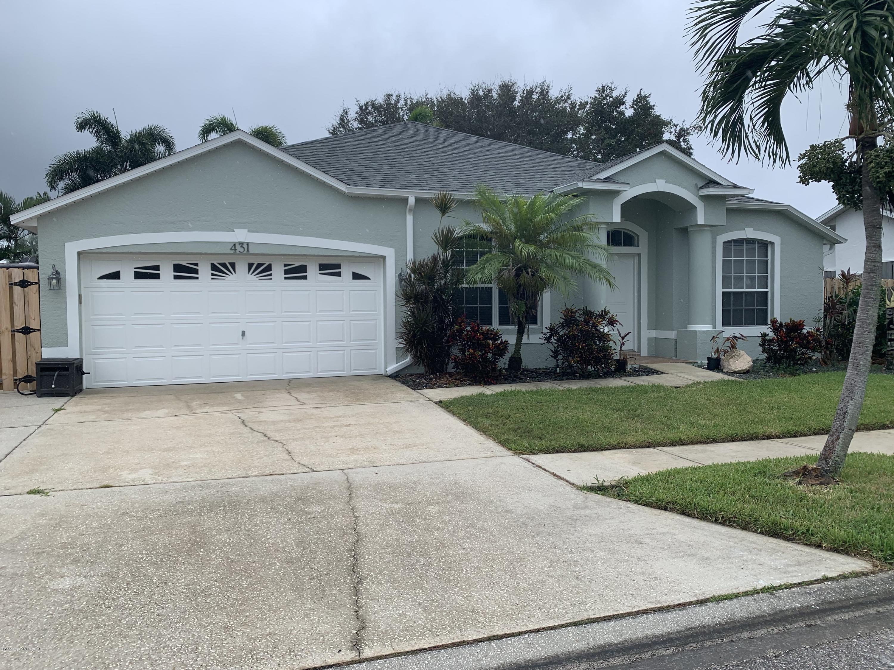 Single Family Homes for Rent at 431 Lighthouse Landing Satellite Beach, Florida 32937 United States