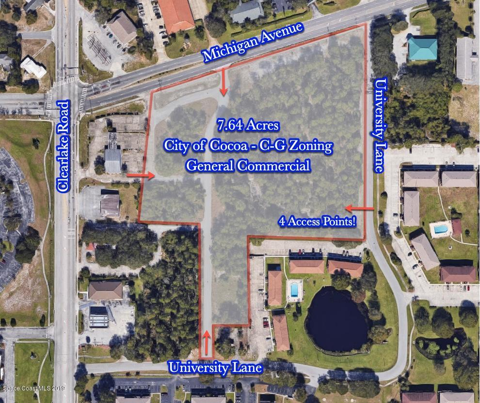 Land for Sale at Unknown Cocoa, Florida 32922 United States