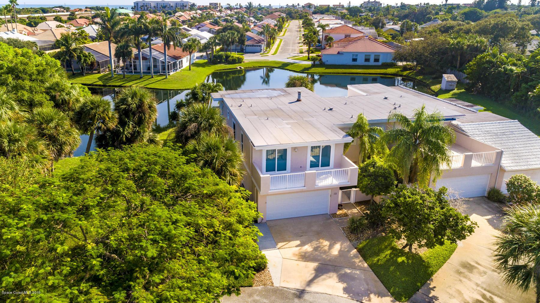 Single Family Homes for Sale at 409 La Costa Melbourne Beach, Florida 32951 United States