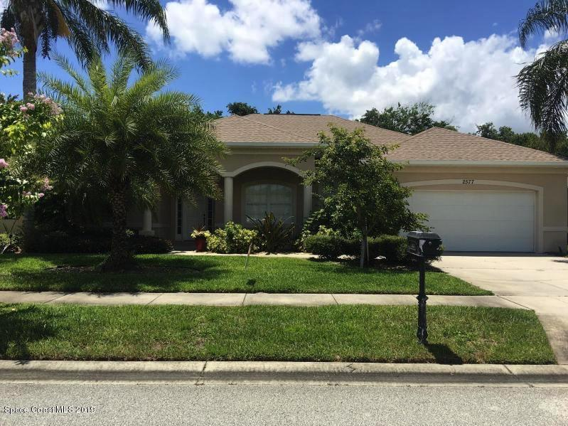 Single Family Homes for Rent at 2577 Christopher Titusville, Florida 32780 United States