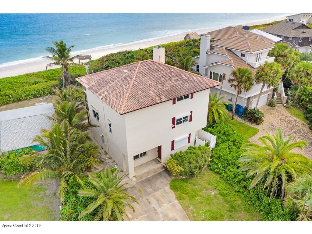 Single Family Homes for Sale at 9085 S Highway A1a Melbourne Beach, Florida 32951 United States