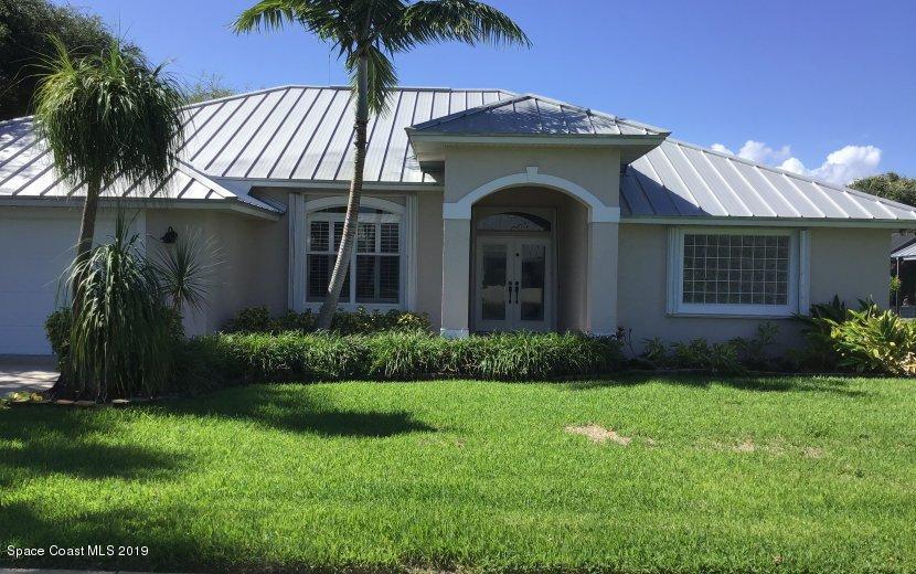 Single Family Homes 용 매매 에 131 Signature Melbourne Beach, 플로리다 32951 미국