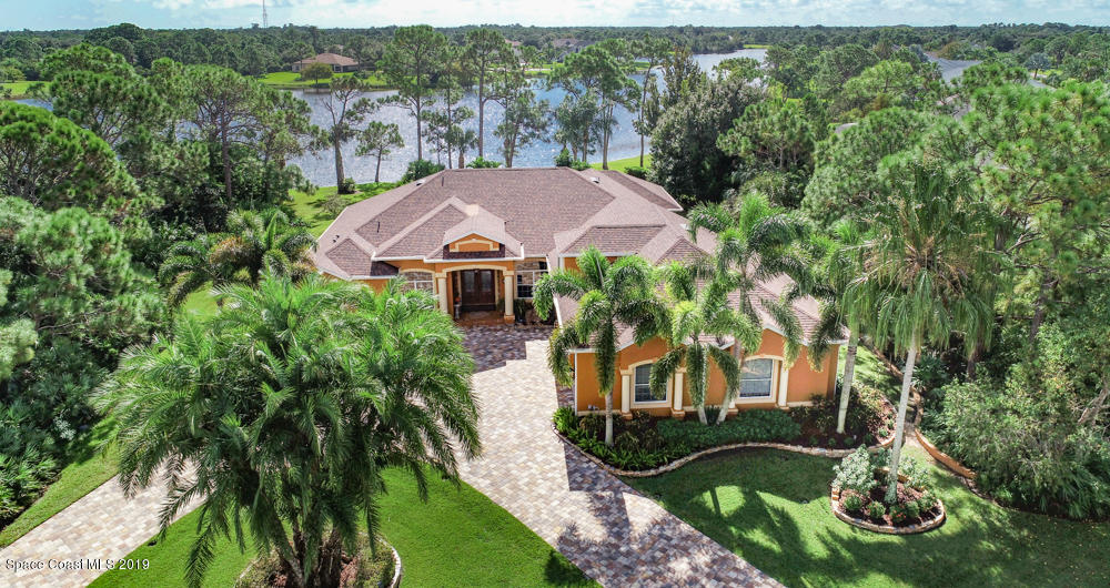 Single Family Homes for Sale at 5648 Cypress Creek Grant Valkaria, Florida 32949 United States