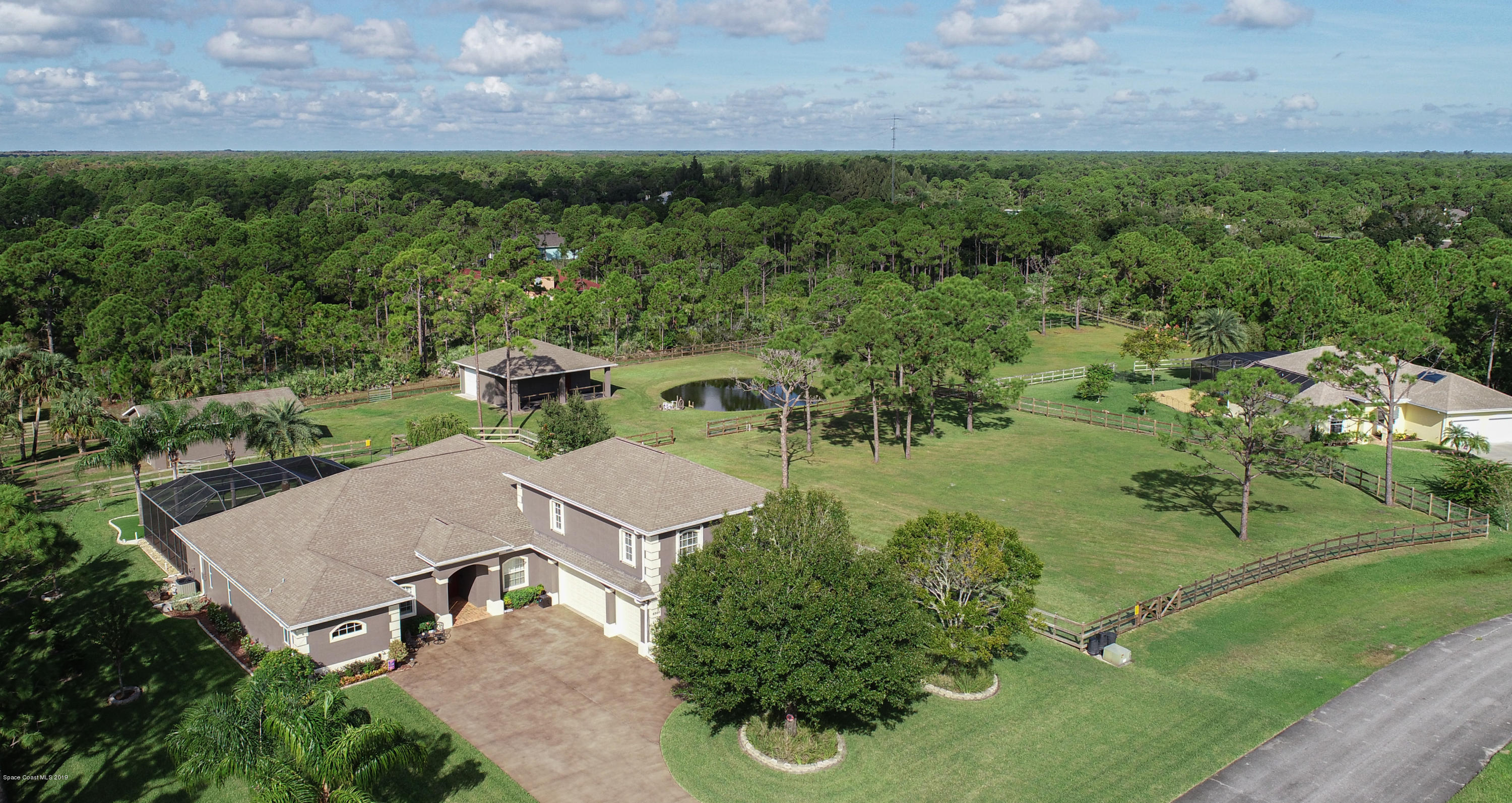 Single Family Homes for Sale at 6940 Hacienda Grant Valkaria, Florida 32949 United States