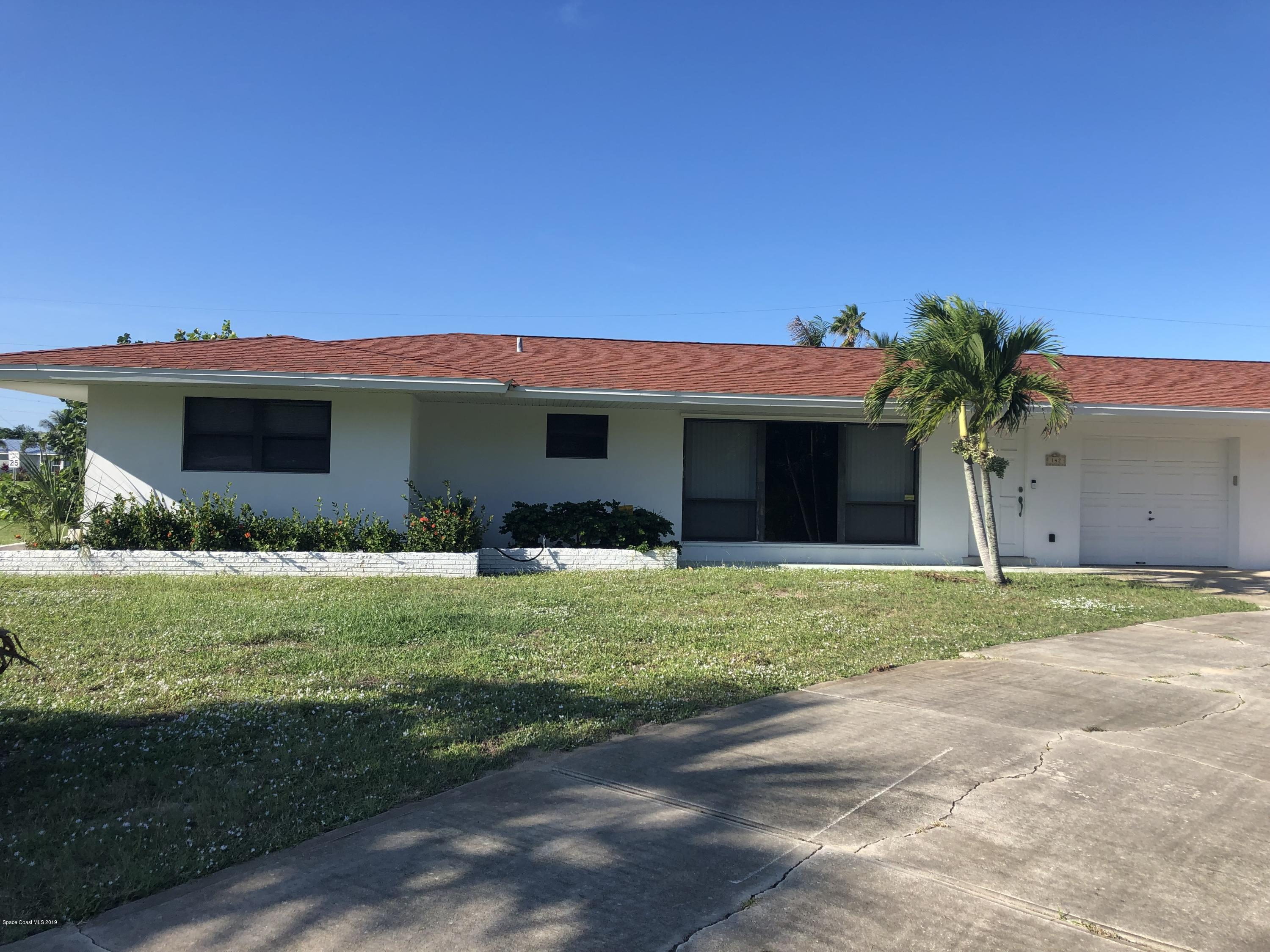 Single Family Homes for Rent at 142 1st Indialantic, Florida 32903 United States