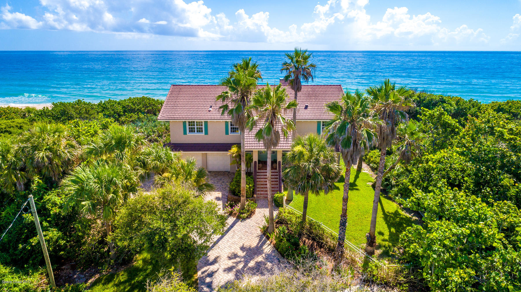 Single Family Homes for Sale at 9515 S Highway A1a Melbourne Beach, Florida 32951 United States