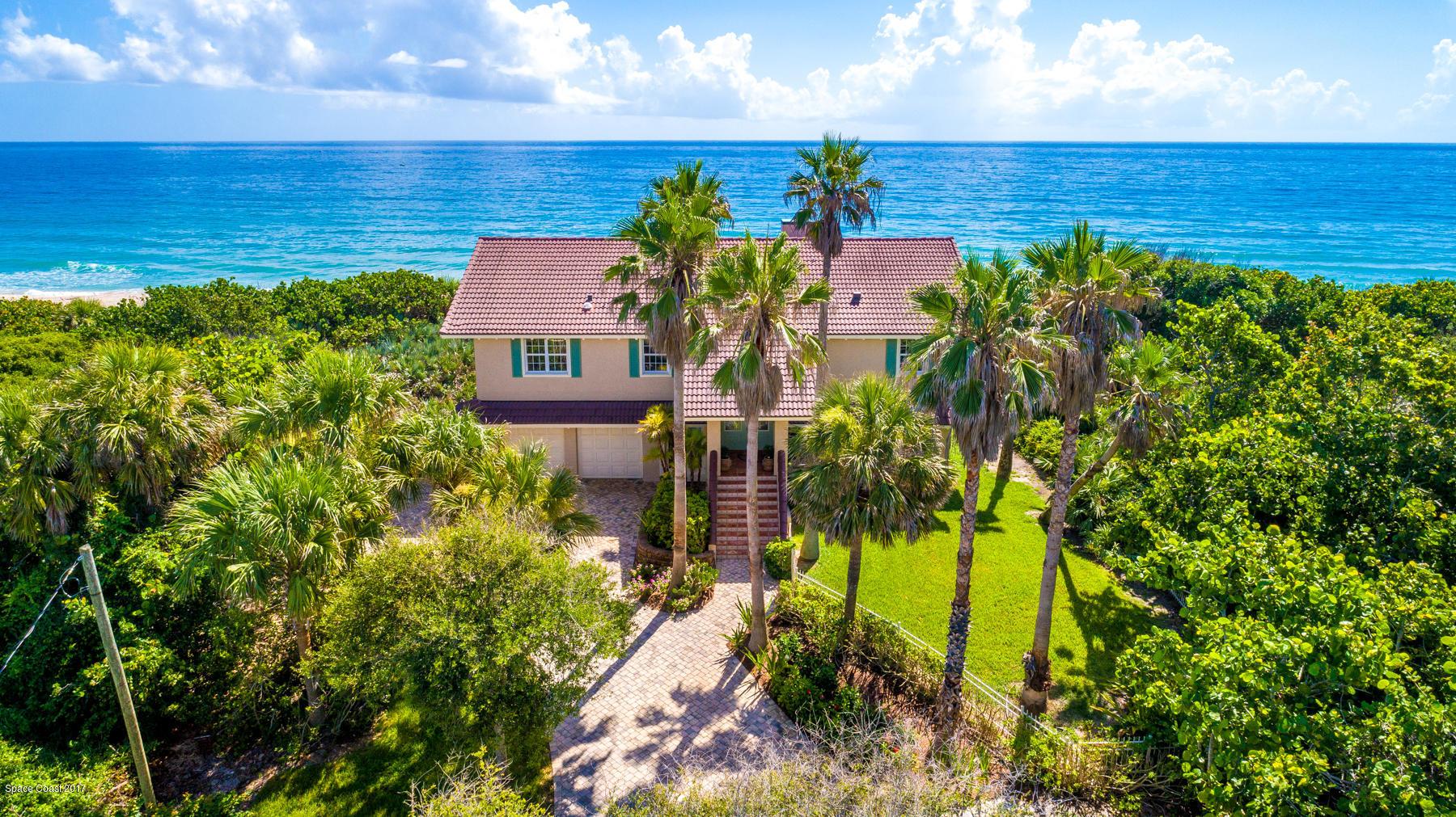 Single Family Homes för Försäljning vid 9515 S Highway A1a Melbourne Beach, Florida 32951 Förenta staterna