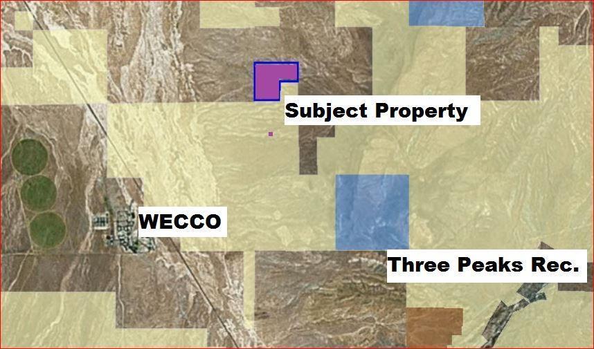 165 Acres Near WECCO/Three Peaks