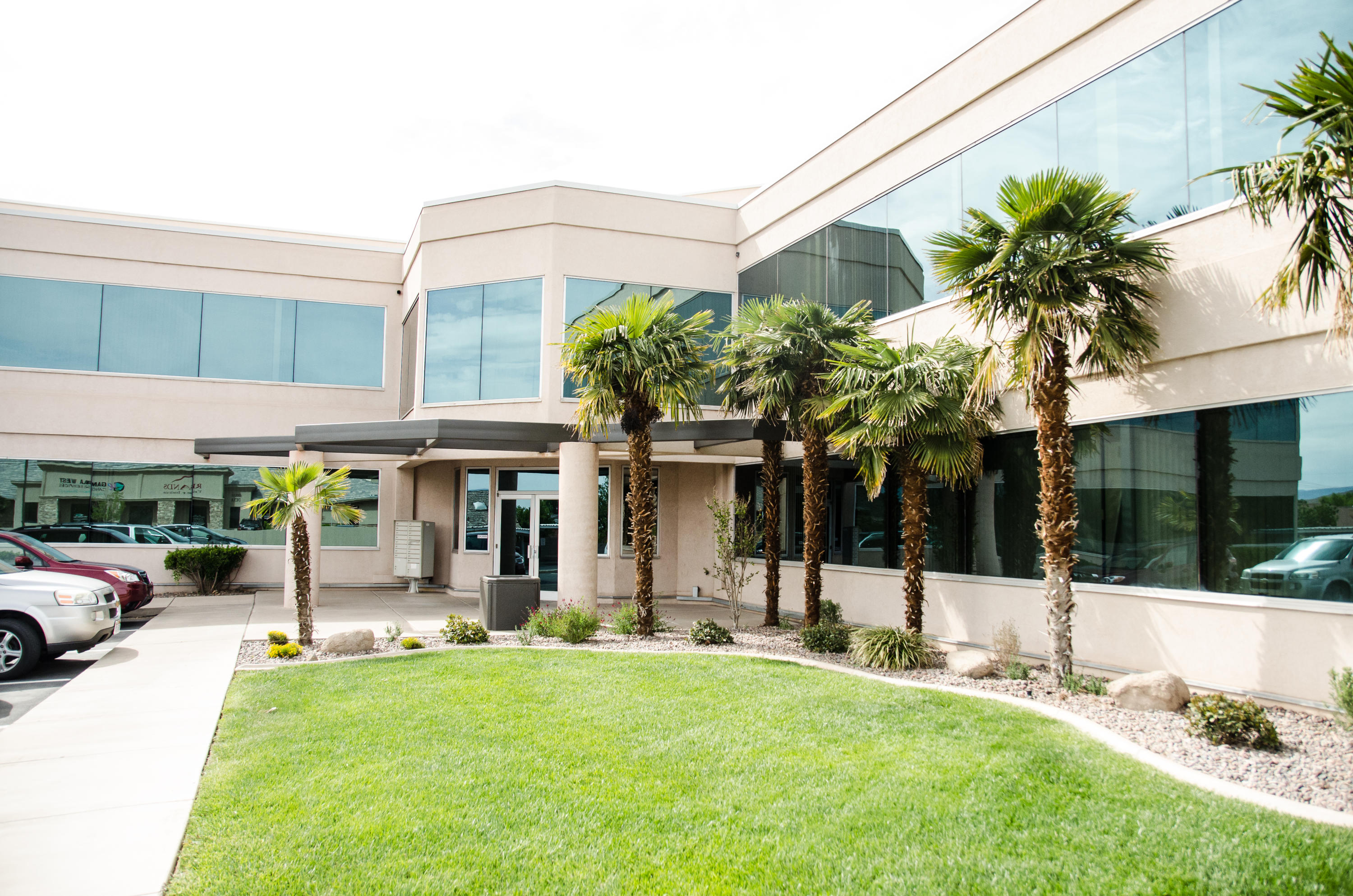 Options galore in this 5125 square foot office space on River Road (former Social Security office).  Main level, private bathrooms, back entrance, and covered parking.  Fiber optics available.  Great location near IHC and other medical offices, post office, and banks. Call agent for more info.2 Free months rent with accepted Lease.