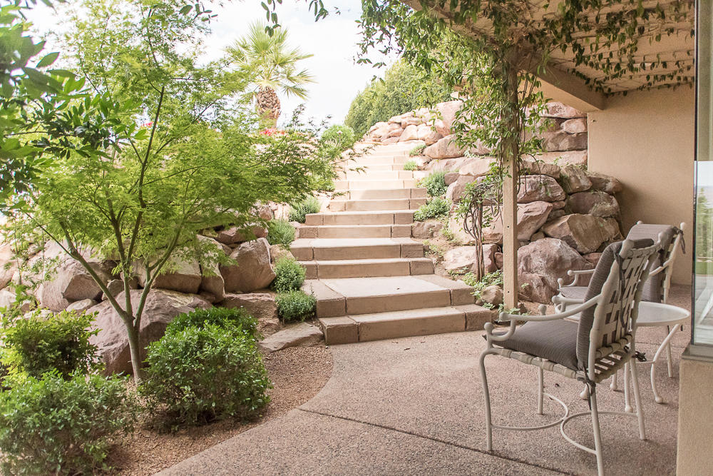 With hard costs exceeding $2.4M!!! This contemporary custom home is the epitome of timeless architecture.  The views are incredible, the quality of materials and workmanship are difficult to match.  Extensive use of structural steel, copper cladding, rare woods and stone, walls of glass, stunning use of water and tile create a rare piece of art that you will comfortably call hom