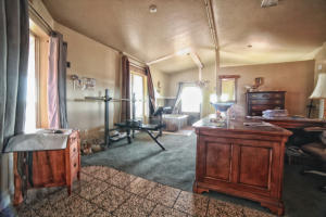 office in master bedroom