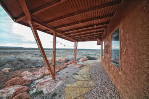 Covered patio-