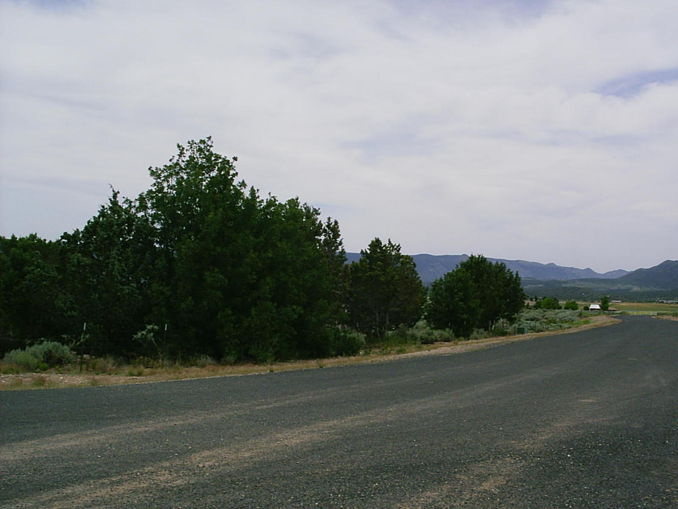 Beautiful views of Kolob and Pine Valley mtns., from this 23.44 acres. One Share in water company.