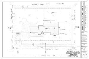 Almond Heights 64 Site Plan