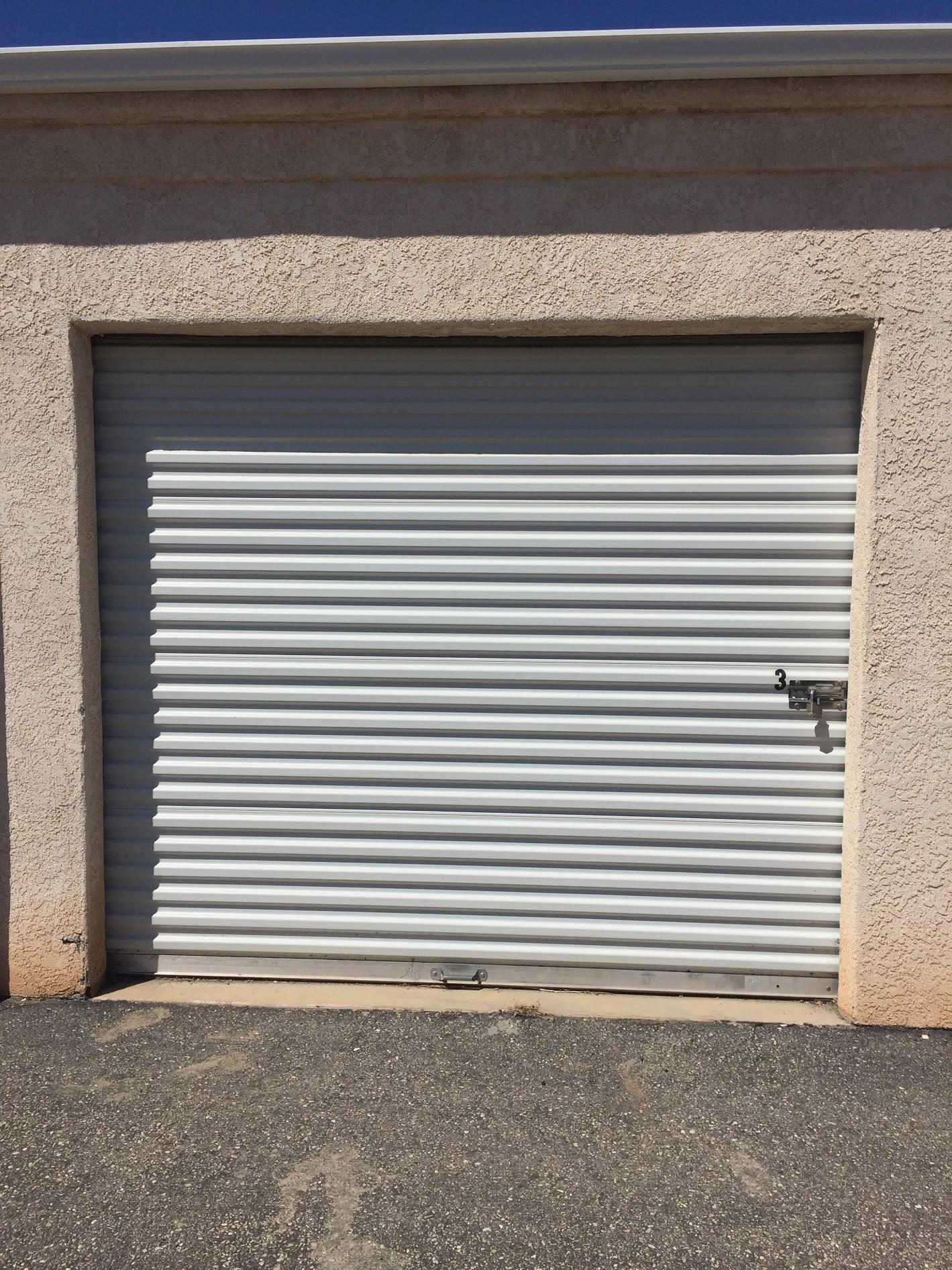Tenant occupied commercial space for sale. 2 Commercial units & 28 storage units. See Documents for breakdown of units and storage.