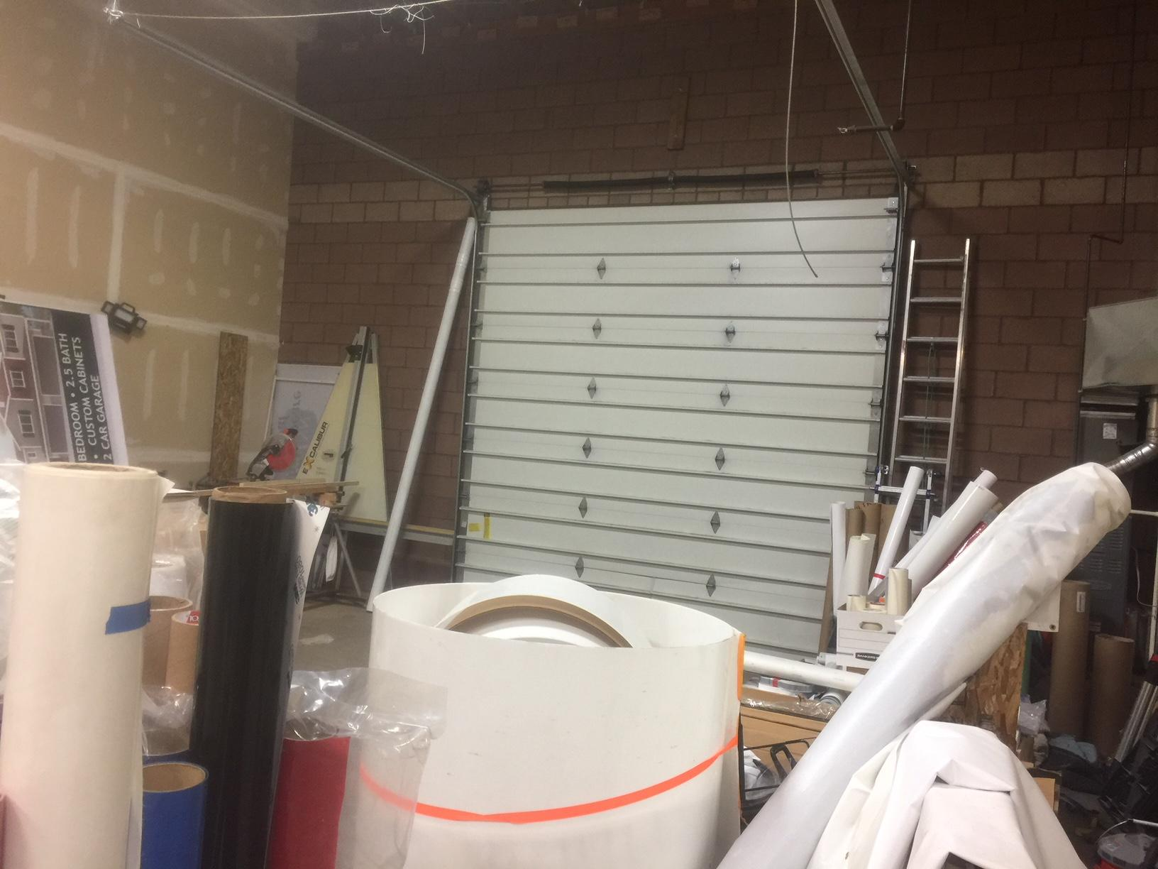 Very nice office warehouse that has a big reception work area and 2 offices and a conference room on the 2nd level. The warehouse is large and very tall ceilings with a large overhead door. Main floor is 2555 sq ft. also offered for sale at $285,000.