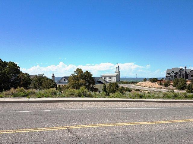 Corner lot with nice north views. Utilities in street. Area amenities include close proximity to school, lake on the hill, the aquatic center and churches. Two blocks south of the Cedar City LDS Temple.