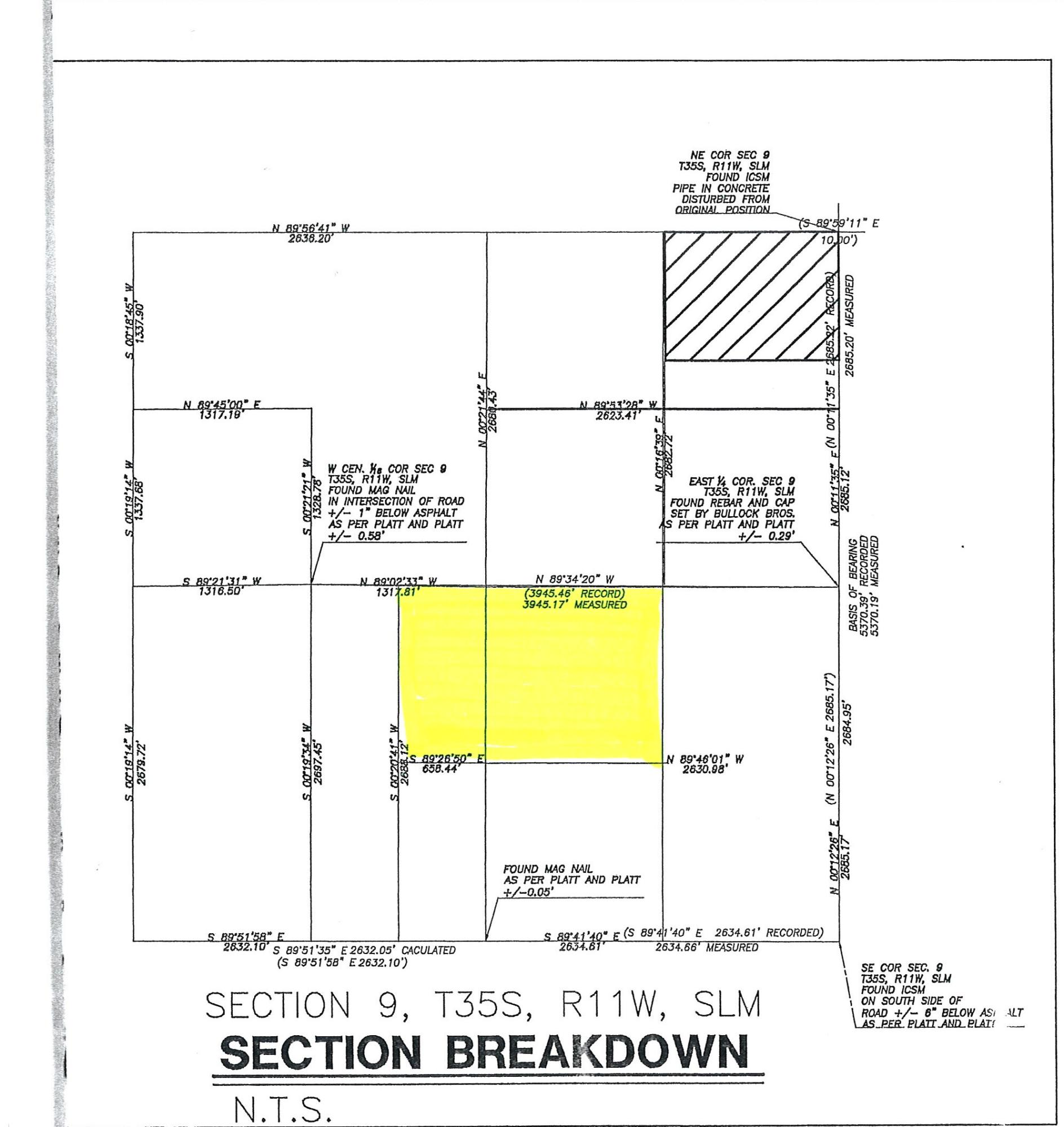 5000 N 2300 W RD -- 60 acres near Rancho Bonita