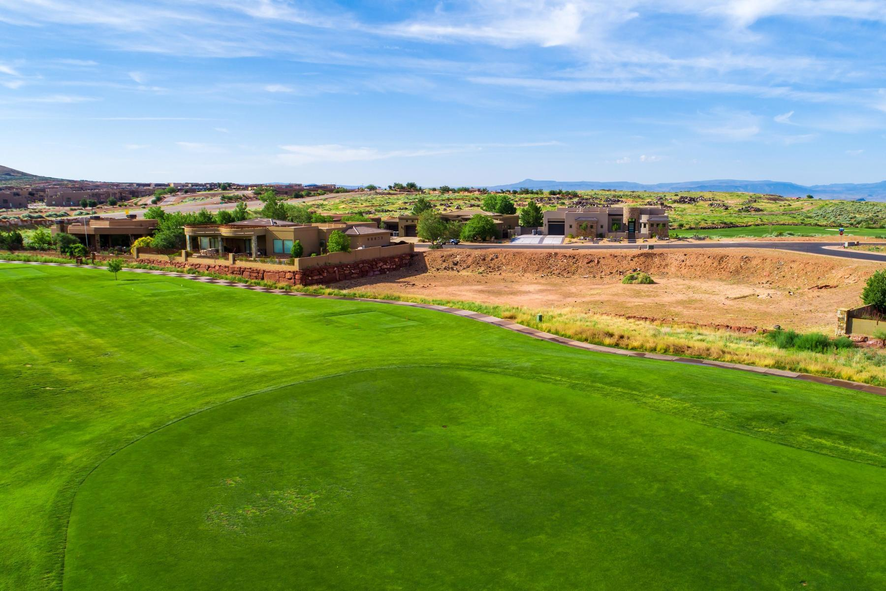 Located on the 11th fairway of The Ledges Golf Course. A private gated community with Snow Canyon and Pine Mtn. views. Build your dream home in an area that offers so many outdoor activities