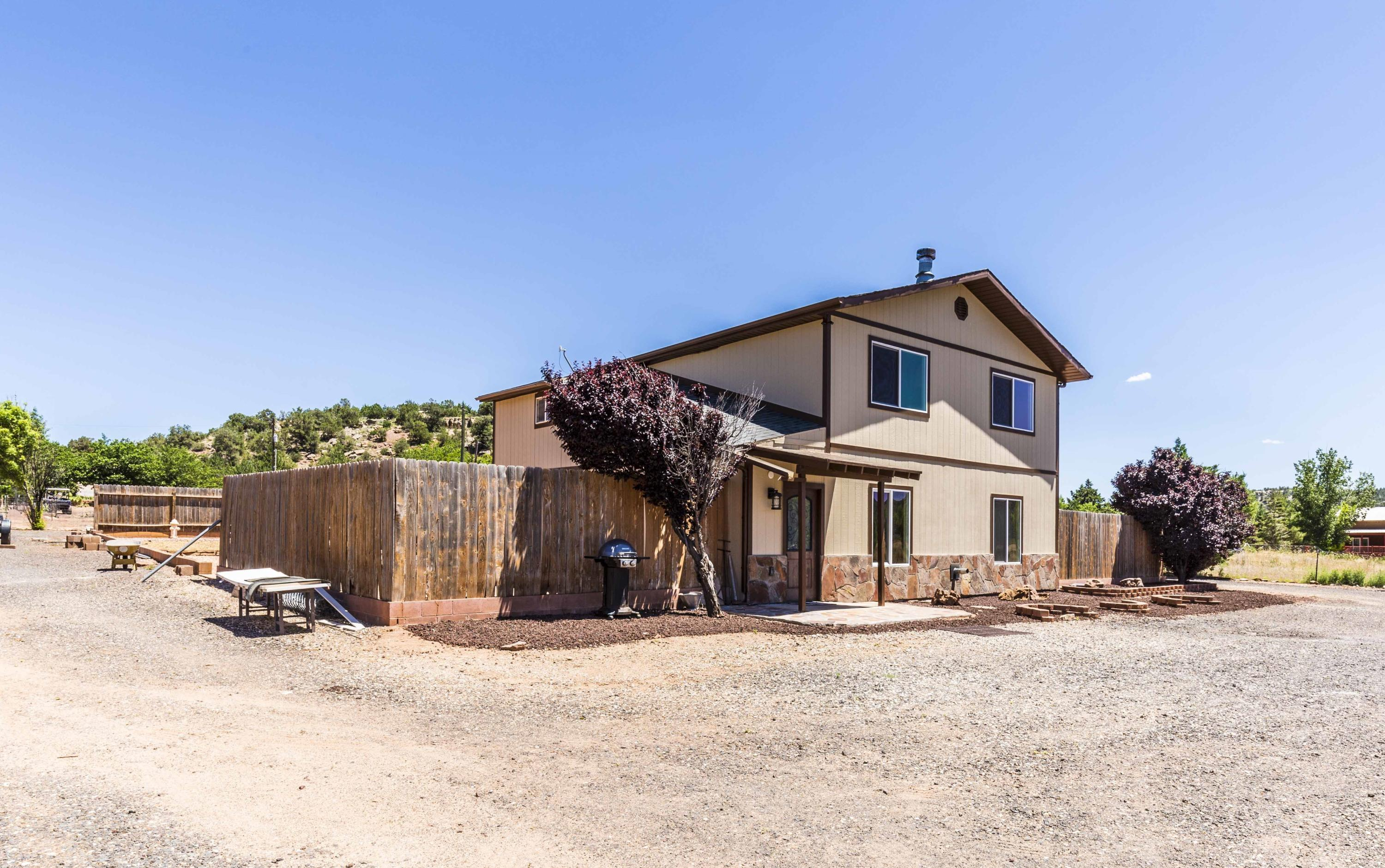 Completely remodeled and improved Apple Valley Ranch home. Perfect land for horses and animals, 1.13 Acres of flat mostly fenced property. 3 Bed 2 Bath, two story, 1796 Sqft. You won\